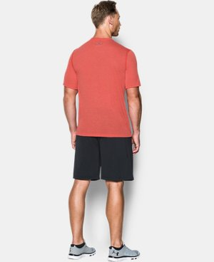 New Arrival Men's UA Threadborne V-Neck T-Shirt  LIMITED TIME: FREE U.S. SHIPPING 1 Color $29.99