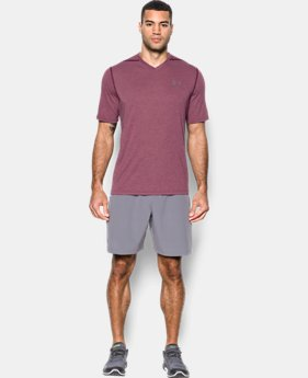 Men's UA Threadborne Siro V-Neck T-Shirt  2  Colors Available $17.99 to $22.5