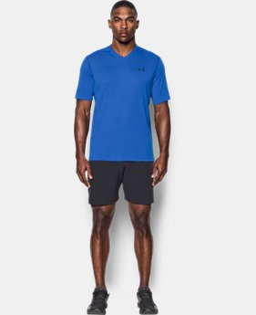 Men's UA Threadborne Siro V-Neck T-Shirt  1 Color $17.24