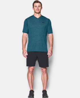 Men's UA Threadborne Siro V-Neck T-Shirt  10 Colors $39.99