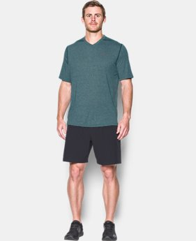 Men's UA Threadborne Siro V-Neck T-Shirt  1 Color $13.5 to $17.99
