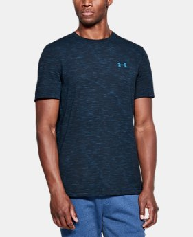 Best Seller Men's UA Seamless T-Shirt  3  Colors Available $39.99