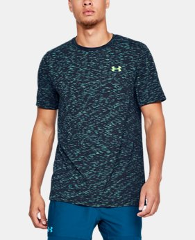 Men's UA Seamless T-Shirt  2  Colors Available $18.99 to $29.99
