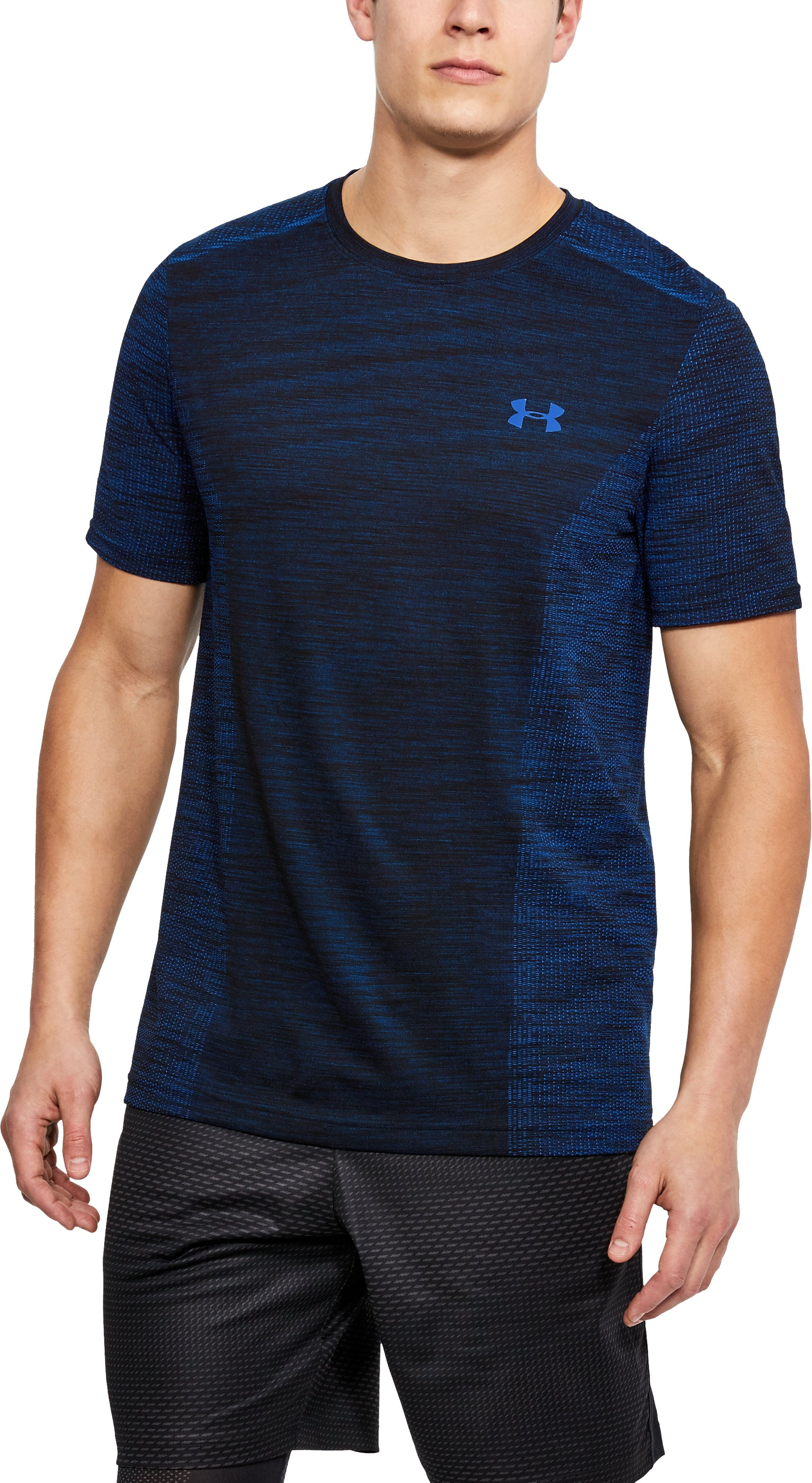 Men's UA Seamless T-Shirt, Mediterranean