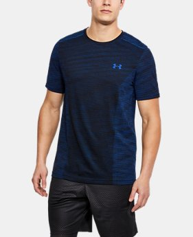 Men's UA Seamless T-Shirt LIMITED TIME: FREE SHIPPING 2  Colors Available $44.99