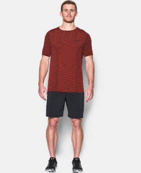 New Arrival Men's UA Threadborne Seamless T-Shirt   1 Color $39.99