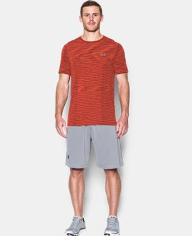 Best Seller Men's UA Threadborne Seamless T-Shirt  2 Colors $22.5 to $27.99