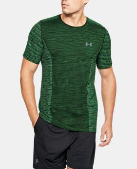 Best Seller Men's UA Seamless T-Shirt  3  Colors Available $18.99 to $29.99