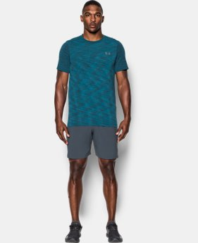 Best Seller Men's UA Threadborne Seamless T-Shirt  4 Colors $18.99 to $29.99