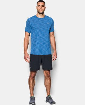 Best Seller Men's UA Threadborne Seamless T-Shirt  8 Colors $27.99 to $30.99