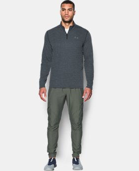 Best Seller Men's UA Threadborne Siro ¼ Zip  4  Colors Available $33.99 to $38.24