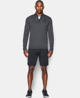 Best Seller Men's UA Threadborne Siro ¼ Zip  1  Color Available $44.99