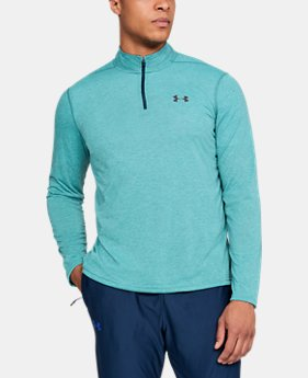 Men's UA Threadborne Siro ¼ Zip  1  Color Available $44.99