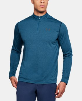 Best Seller Men's UA Threadborne Siro ¼ Zip  2 Colors $44.99
