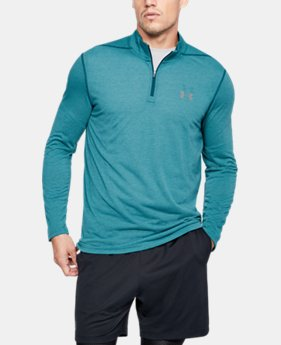 Best Seller  Men's UA Threadborne Siro ¼ Zip  9  Colors $49.99