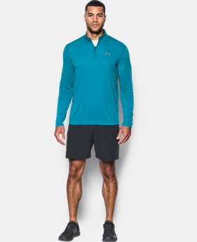 Best Seller  Men's UA Threadborne Siro ¼ Zip LIMITED TIME OFFER 10 Colors $34.99