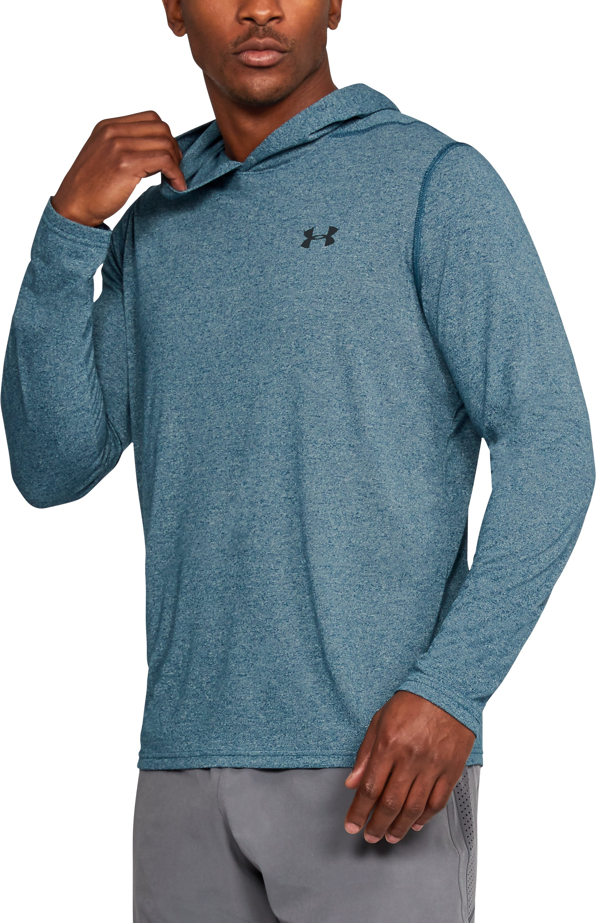 Men's UA Threadborne Siro Hoodie, TRUE INK, undefined