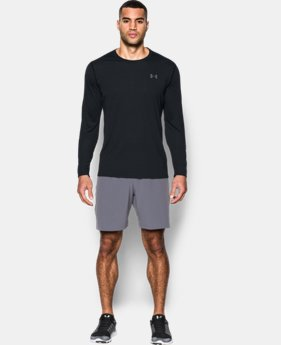 Best Seller  Men's UA Threadborne Siro Long Sleeve T-Shirt  4 Colors $44.99