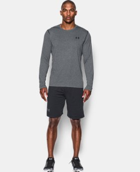 Men's UA Threadborne Siro Long Sleeve T-Shirt  2  Colors Available $24.99 to $28.04