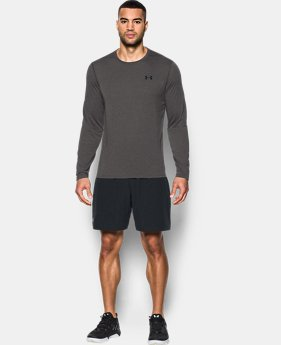 Best Seller Men's UA Threadborne Siro Long Sleeve T-Shirt  3 Colors $32.99