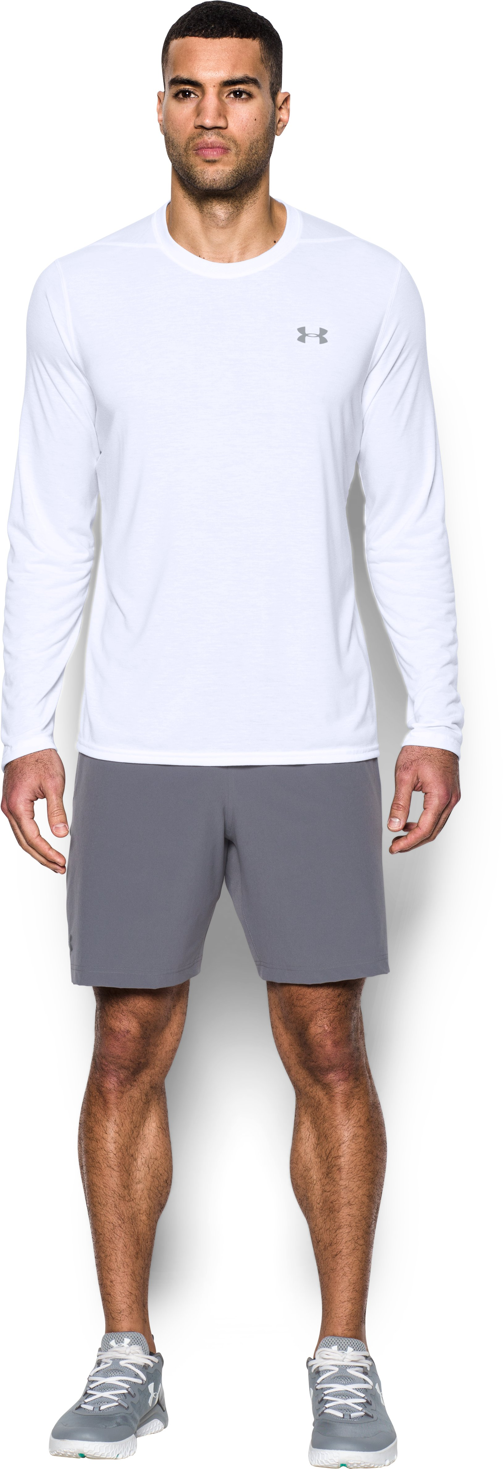 large long sleeve t-shirts Men's UA Threadborne Siro Long Sleeve T-Shirt It <strong>fits</strong> very well and is super comfortable.