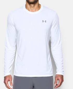 Men's White Long Sleeve Shirts | Under Armour US