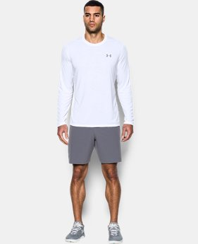 New Arrival Men's UA Threadborne Siro Long Sleeve T-Shirt  1 Color $32.99