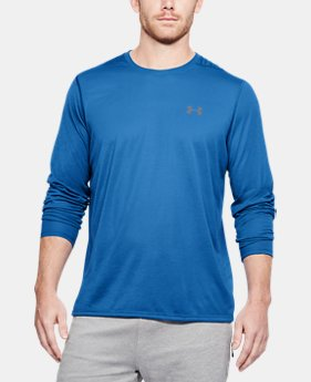 Best Seller  Men's UA Threadborne Siro Long Sleeve T-Shirt  1  Color Available $44.99