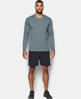 Best Seller  Men's UA Threadborne Siro Long Sleeve T-Shirt  1 Color $44.99