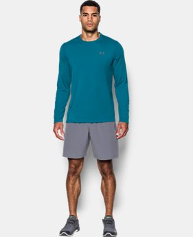 Best Seller Men's UA Threadborne Siro Long Sleeve T-Shirt   $32.99