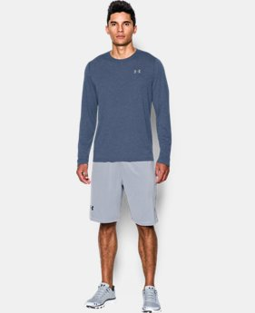 Men's UA Threadborne Siro Long Sleeve T-Shirt LIMITED TIME OFFER 1 Color $31.49