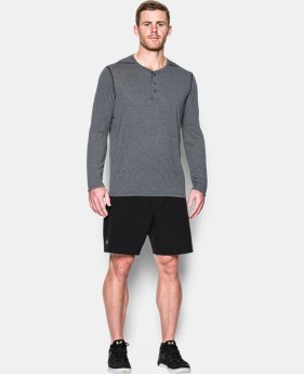 Men's UA Threadborne Siro Henley  2 Colors $16.49 to $20.99