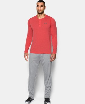 New Arrival Men's UA Threadborne Siro Henley  1 Color $39.99
