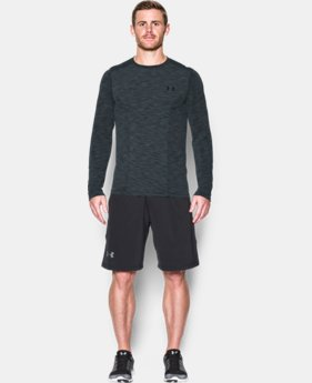 Men's UA Threadborne Seamless Long Sleeve T-Shirt  1  Color Available $59.99