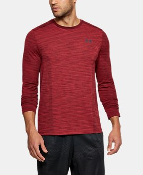 Men's UA Threadborne Seamless Long Sleeve T-Shirt  5  Colors Available $49.99