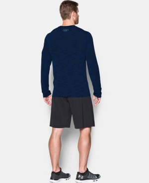 New Arrival  Men's UA Threadborne Seamless Long Sleeve T-Shirt   2 Colors $59.99