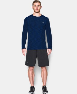 New Arrival Men's UA Threadborne Seamless Long Sleeve T-Shirt   1 Color $49.99