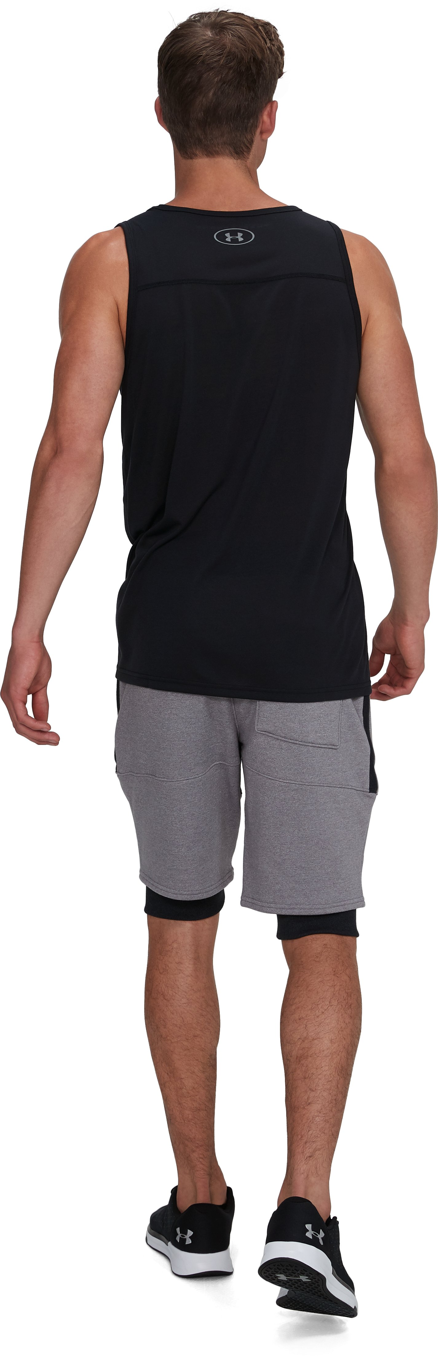 Men's UA Threadborne Siro Tank, Black ,