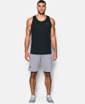 Men's UA Threadborne Siro Tank  1  Color Available $29.99