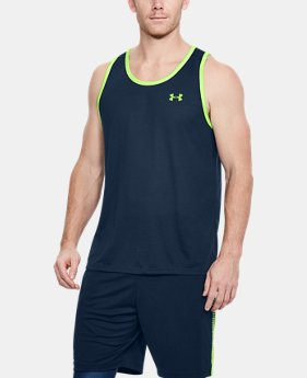 Best Seller Men's UA Threadborne Siro Tank  1  Color Available $22.49
