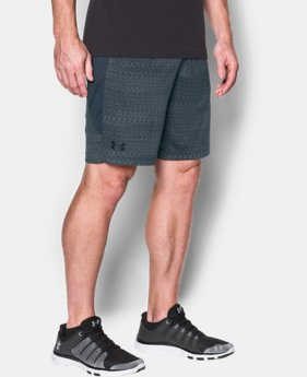 New Arrival Men's UA Raid Jacquard 10'' Shorts  2 Colors $34.99