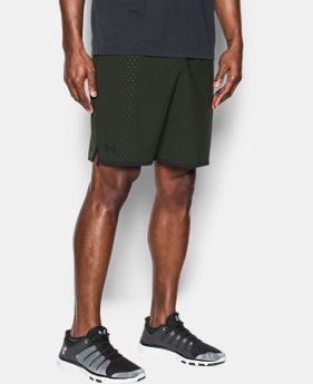 Men's UA Qualifier Printed Shorts  1 Color $21.99