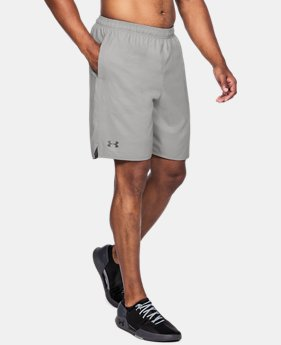 Men's UA Qualifier Printed Shorts  2 Colors $39.99