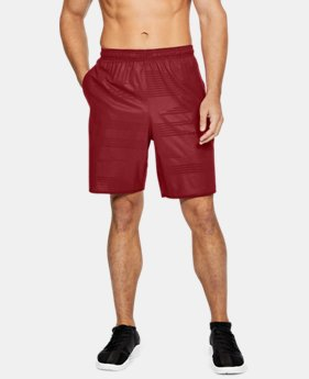 Men's UA Qualifier Printed Shorts LIMITED TIME: FREE U.S. SHIPPING 1 Color $39.99