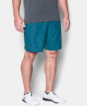 Men's UA Qualifier Printed Shorts  1 Color $39.99