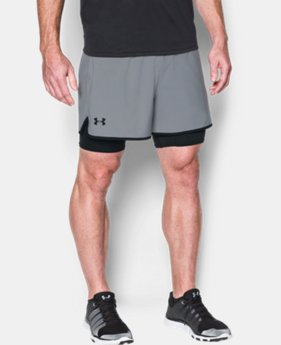 Men's UA Qualifier 2-in-1 Shorts LIMITED TIME: FREE SHIPPING 2 Colors $59.99