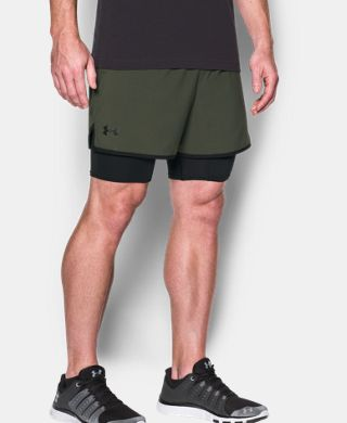 Men's UA Qualifier 2-in-1 Shorts