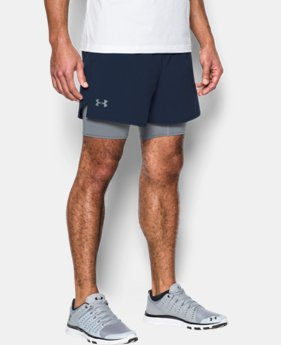 Men's UA Qualifier 2-in-1 Shorts  1 Color $59.99