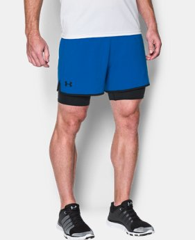Men's UA Qualifier 2-in-1 Shorts  1 Color $35.99