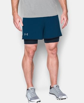New Arrival  Men's UA Qualifier 2-in-1 Shorts    $59.99